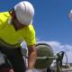 Obras de reparación del litoral asturiano
