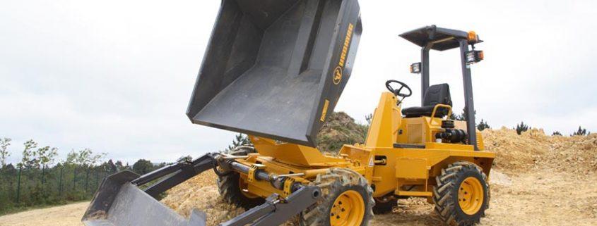 Nuevos dumpers autocargables de 3.000 Kg Uromac